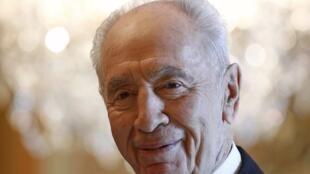 Shimon Peres à Ottawa, Canada, le 8 mai 2012.