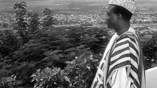 Dans les années 60. Modibo Keïta, premier président du Mali.