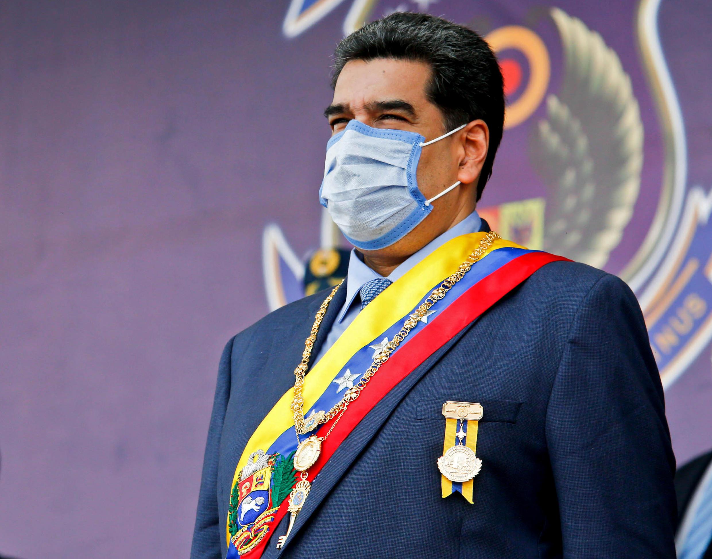 El presidente Nicolás Maduro en un acto oficial militar en Maracay, el 27 de noviembre