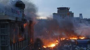 Майдан Незалежности, 19 февраля 2014 год