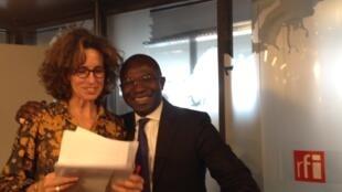 Didier Acouetey et Emmanuelle Bastide.