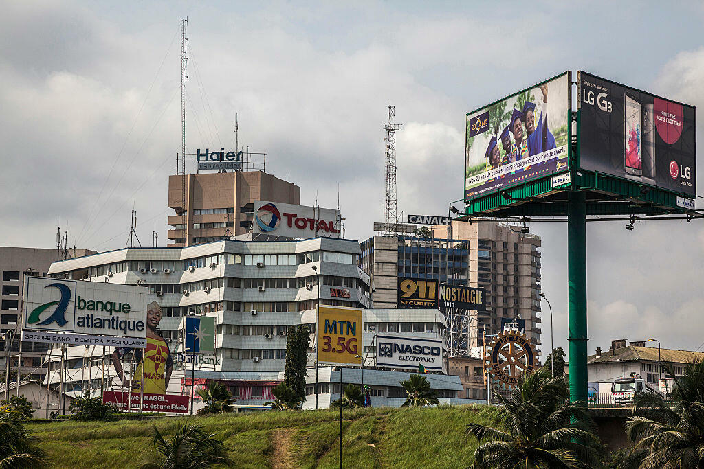 Vue d'Abidjan le 31 août 2015. (Photo d'illustration)