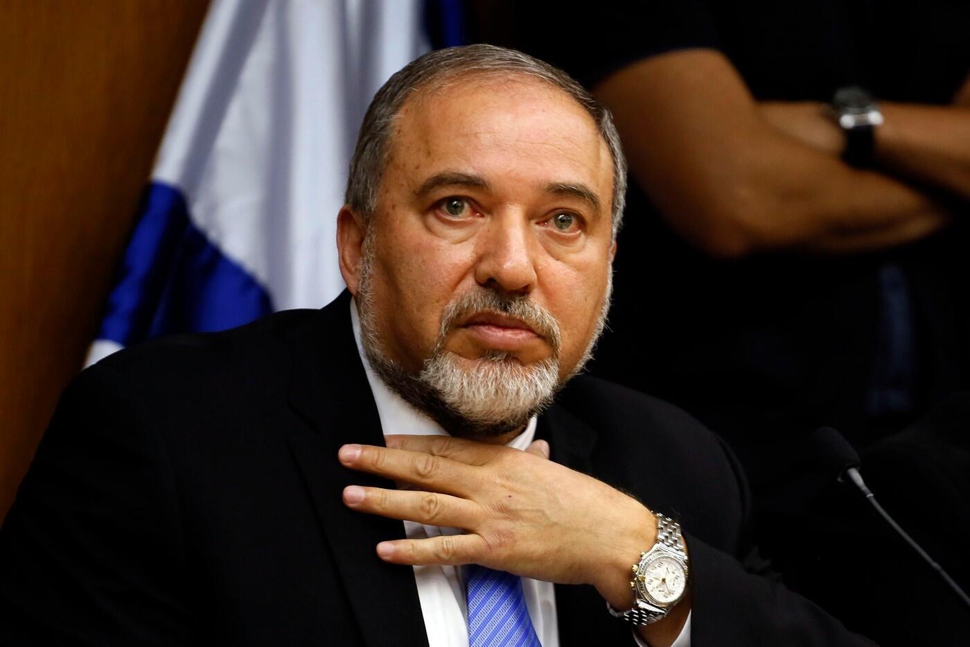 آویگدور لیبرمن وزیر دارایی اسرائیل