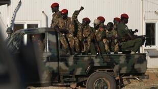 Wanajeshi wa SPLA wa Sudan Kusini