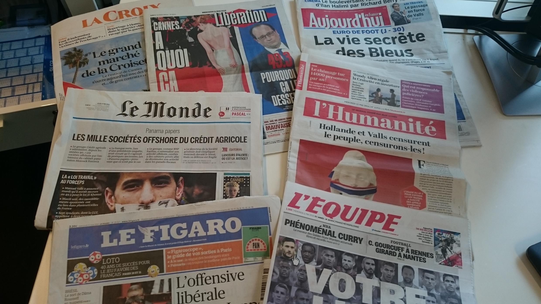 Diários franceses 11.05.2016