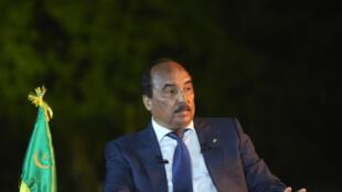 Mohamed Ould Abdel Aziz, l'ancien président mauritanien (image d'illustration)