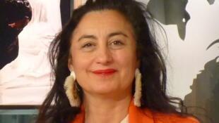 Pilar Albarracín en los estudios de RFI