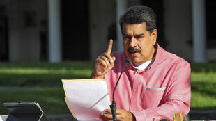 Analysts say Venezuela's President Nicolas Maduro, pictured in August 2020, aims to ensure that some heavyweight opposition figures take part in the election to lend the vote legitimacy