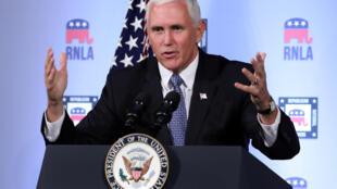 美国彭斯10月4日发表演讲强烈谴责习近平领导的中国大倒退。