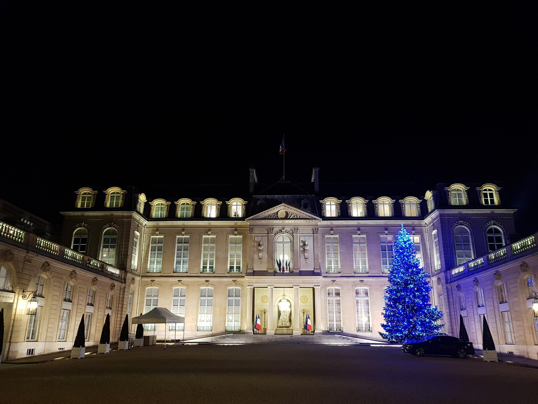 Елисейский дворец 22 декабря 2017.