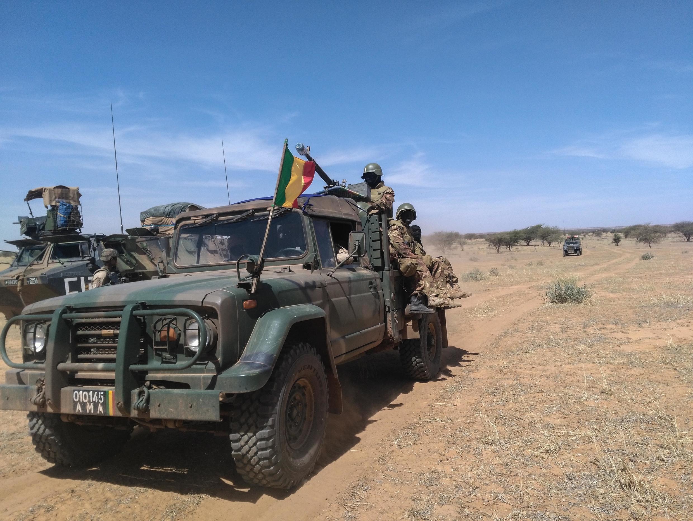 Askari wa kikosi cha G5 Sahel wakati wa Operation Haw Bi.
