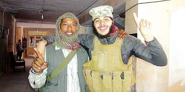 Capture d'écran du compte Facebook du djihadiste autrichien Firas, désormais fermé.
