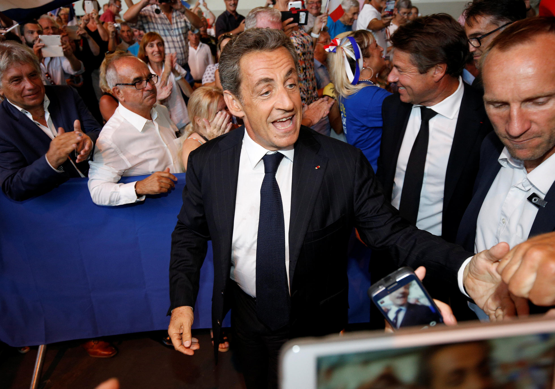 Nicolas Sarkozy a donné son premier meeting de campagne jeudi 25 août à Châteaurenard, dans le sud de la France.
