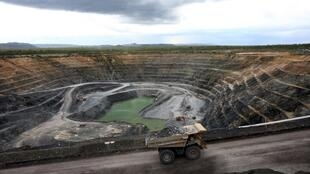 Mine d'uranium dans le nord de l'Australie.