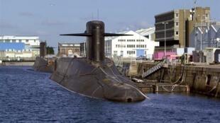 «Le Tonnant» et «Le Foudroyant», deux sous-marins nucléaires français lanceurs d'engins (SNLE).