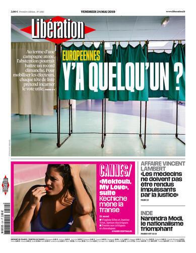 Os jornais franceses desta sexta-feira (24) destacam as Eleições europeias que acontecem neste momento.