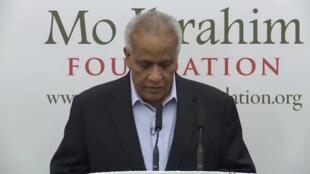 Mwenyekiti wa kamati ya tuzo za Mo Ibrahim, Dr. Salim Ahmed Salim