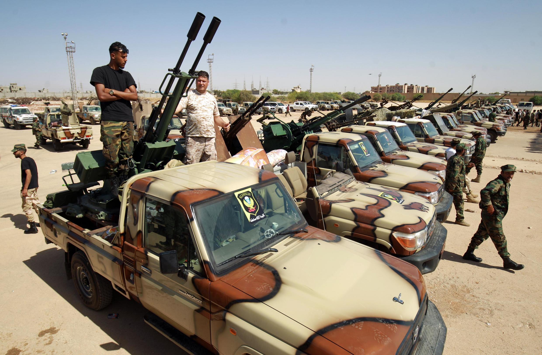 Tun shekarar 2011 Libya ta tsunduma cikin yakin basasa.