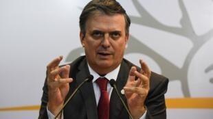 مارچلو ابرارد، وزیر امور خارجۀ مکزیک