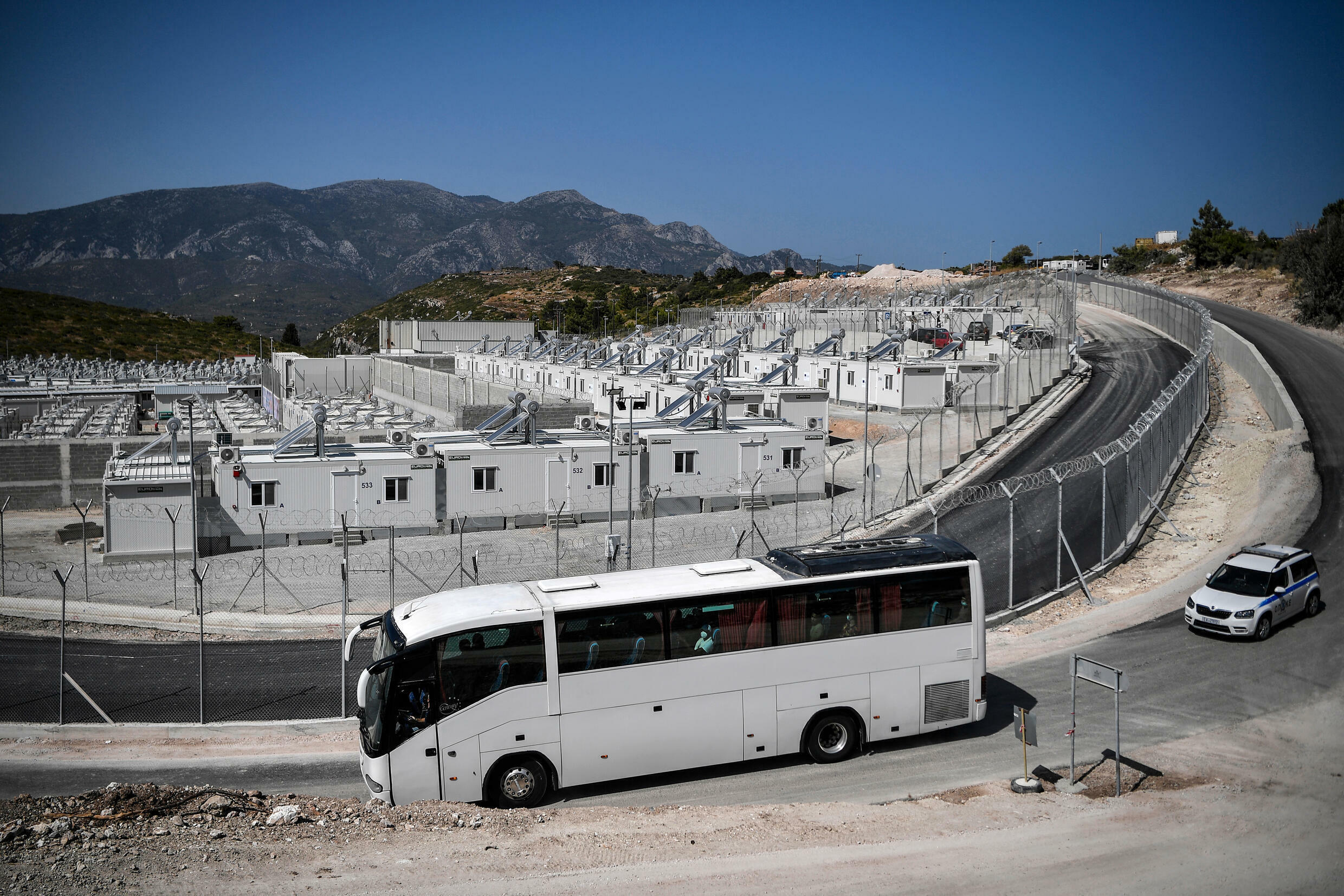 The Samos camp will serve as a pilot for the other so-called closed and controlled access facilities