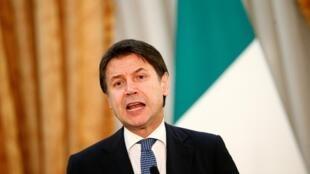 Le président du Conseil italien Giuseppe Conte (ici le 28 décembre 2019 à Rome).
