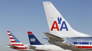 American Airlines planes at Dallas airport