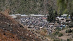 Fotografia da região de Amhara, na Etiópia.