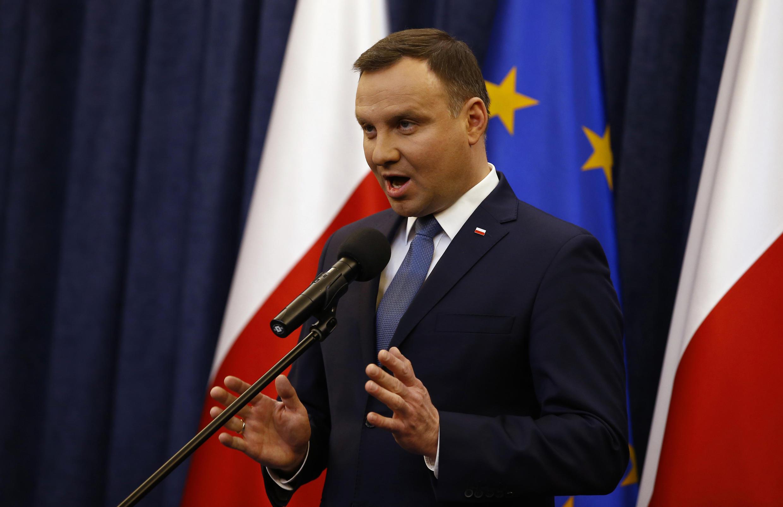 Польского президента Анджея Дуду европейские чиновники критикуют за резкие реформы