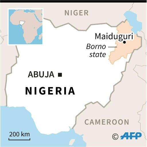 Two sources aid fatalities from the attack in restive Borno state had doubled as more bodies were found and included 12 policemen, five soldiers, four members of a government-backed militia and nine civilians
