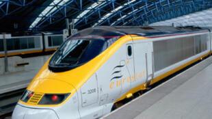 Une rame d'Eurostar