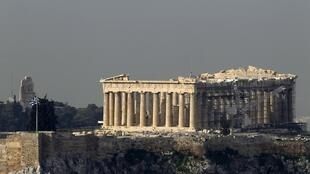 The Acropolis in Athens is closed to visitors because of the general strike
