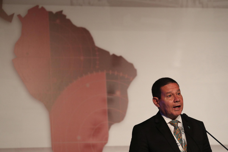 O vice-presidente do Brasil, Hamilton Mourão