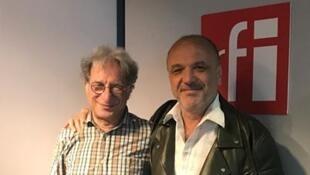 Jean-Rémy Guédon et Yvan Amar.