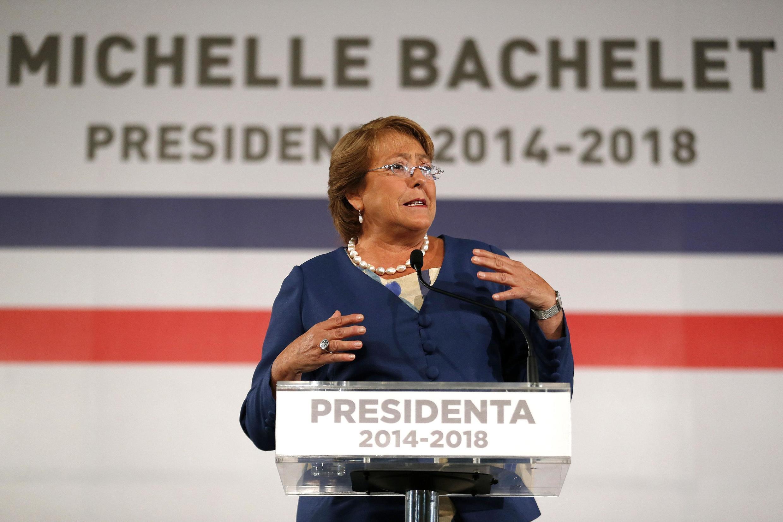 La presidenta electa de Chile, Michelle Bachelet.