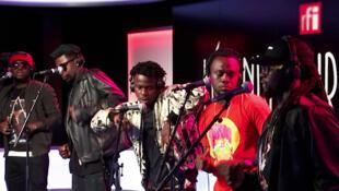 Le groupe ivoirien Kiff No Beat dans l'émission Légendes urbaines sur RFI.