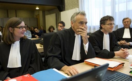 Trafigura lawyers in court, 1 June 2010