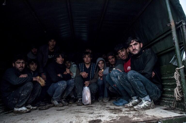 Refugiados afegãos deportados para o seu país, 9 de Dezembro.