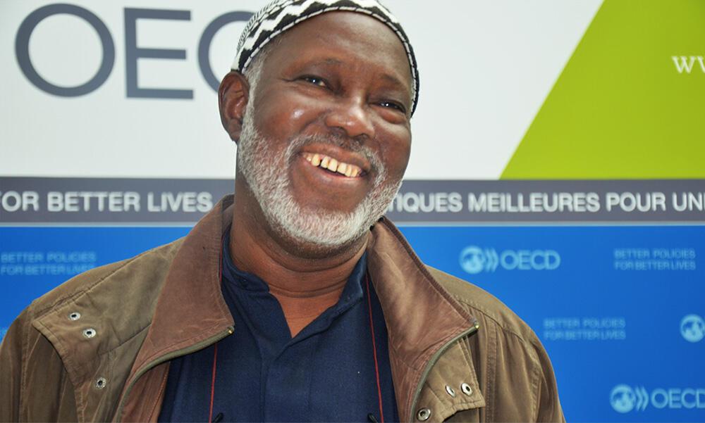 Mamadou Cissoko, président  d'honneur du Réseau des organisations paysannes et des producteurs de l'Afrique de l'Ouest (ROPPA)