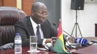 Domingos Simões Pereira, primeiro-ministro destituído da Guiné-Bissau