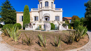 En plein cœur de la Victorine, la villa de Rex Ingram, réalisateur américain des « Quatre cavaliers de l'Apocalypse »