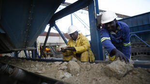 Mine d'or de Kibali (RDC).