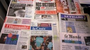 Diários franceses 05/06/2015