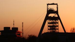 Une mine, à Johannesburg.