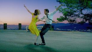 Emma Stone y Ryan Gosling en 'La La Land', de Damien Chazelle.