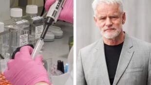 冰岛德科德基因公司( deCODE)的主管卡里·斯特凡松资料图片