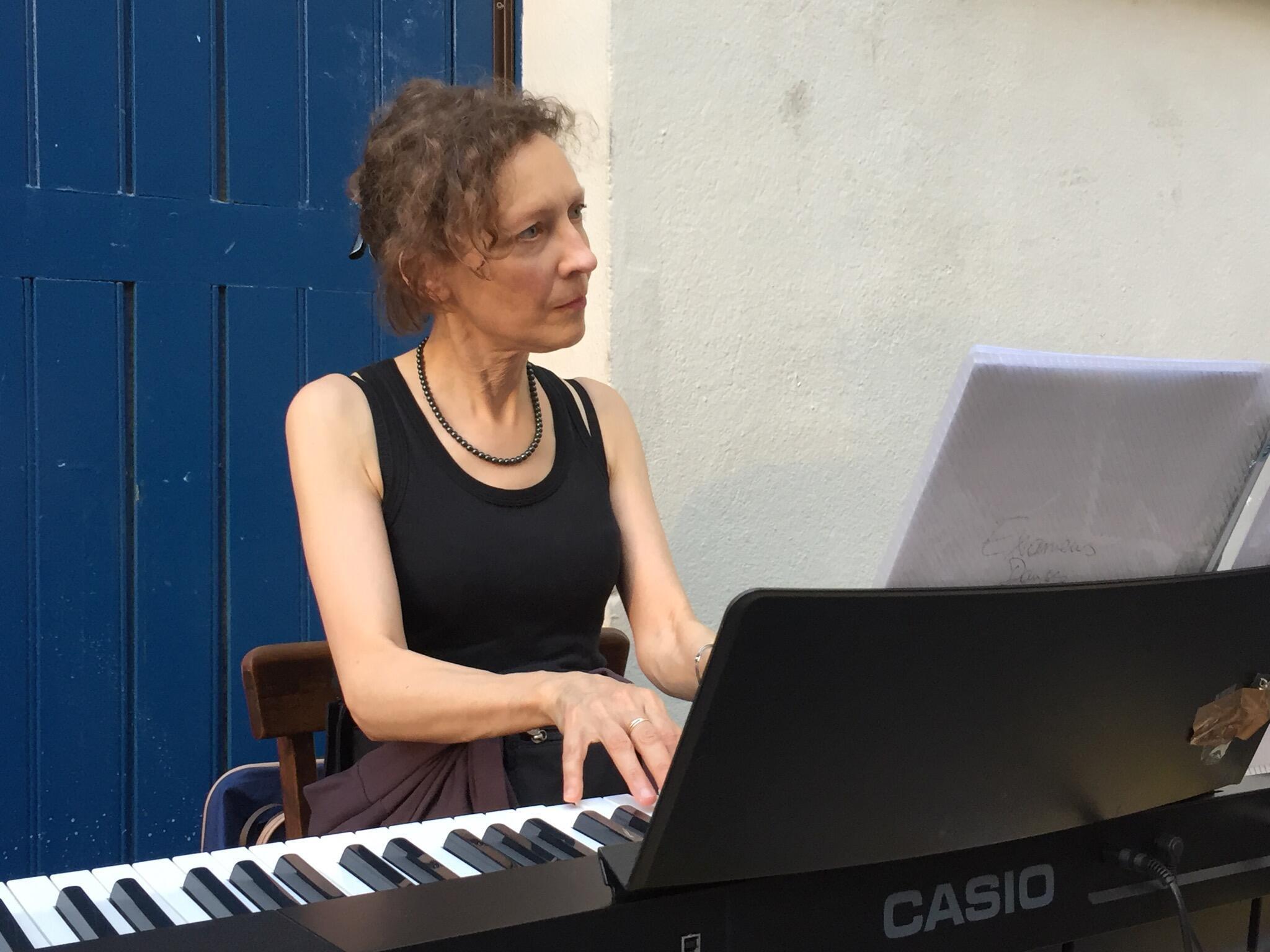 A pianista Isabelle Van Brabant