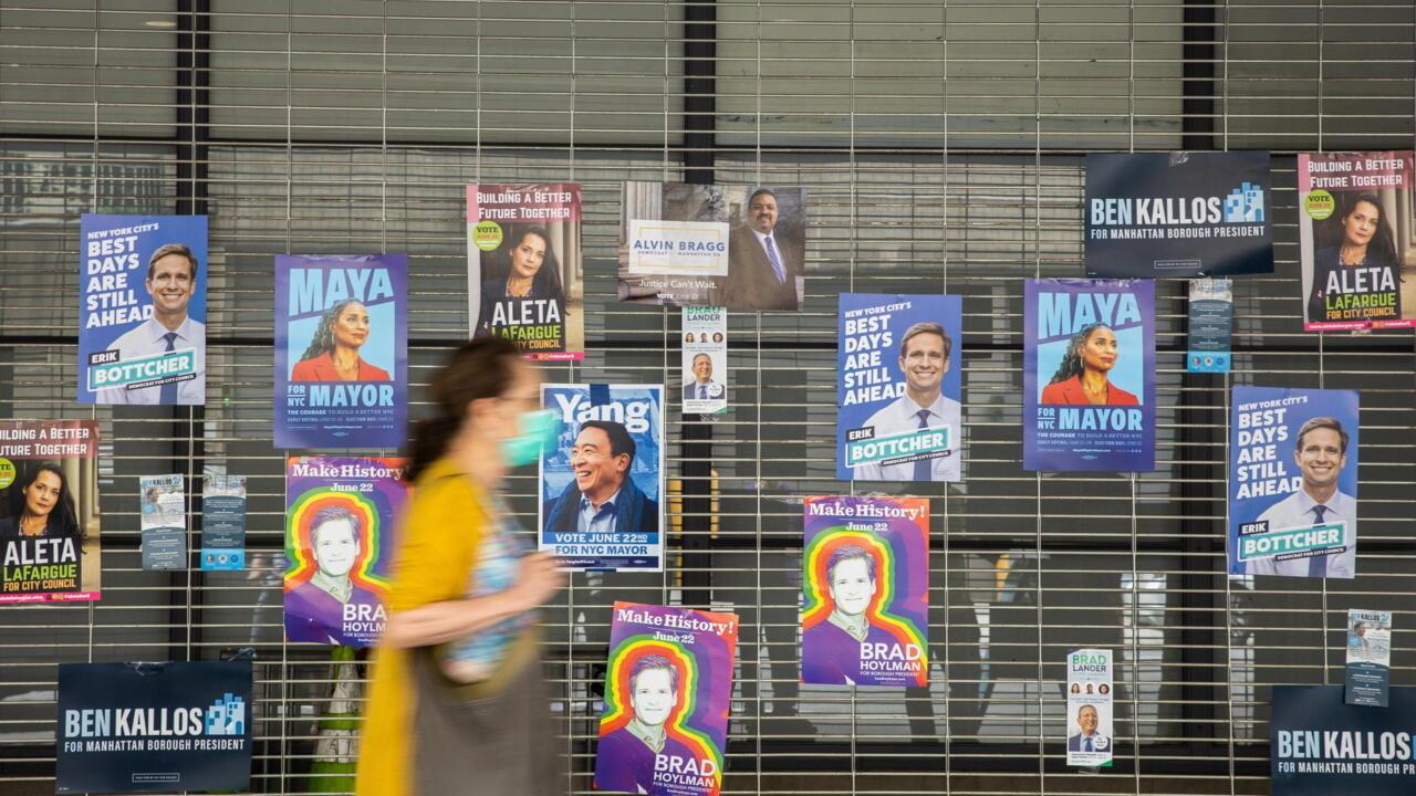 Who to succeed Bill de Blasio as mayor of New York?