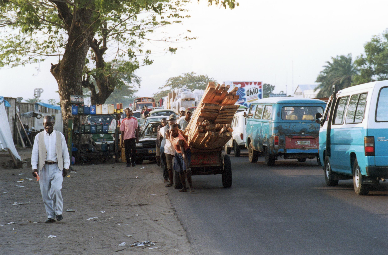 Dans une rue de Kinshasa, capitale de la République démocratique du Congo (photo d'illustration).
