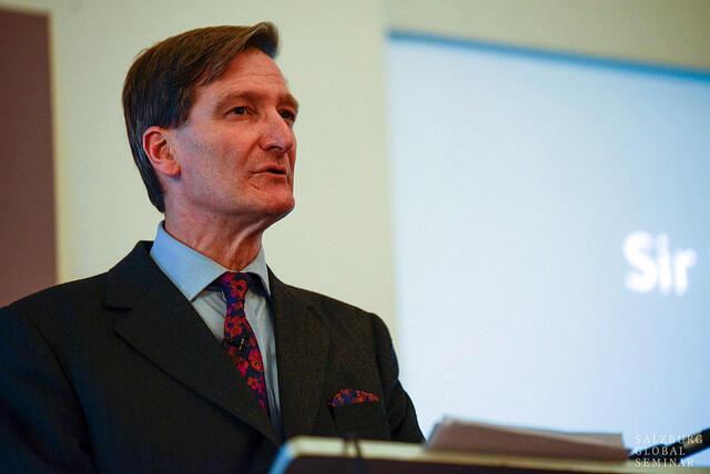 Le député britannique Dominic Grieve