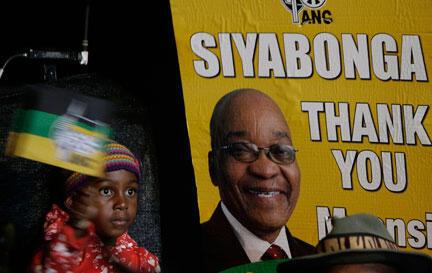 En 2009, Jacob Zuma s'était réjoui de la «splendide victoire» de son parti aux élections générales du 22 avril.
